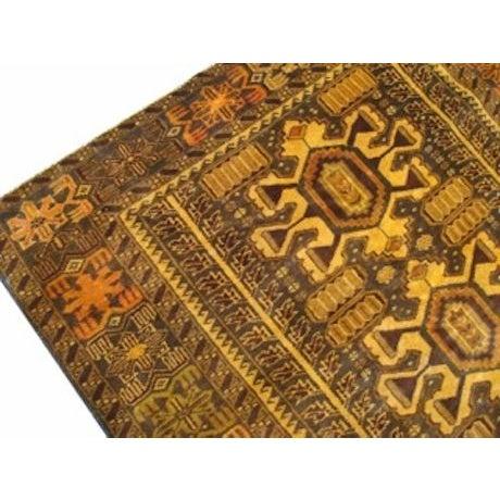 "100% Wool Tribal Rug - 3' 8"" X 5' 10"" - Image 4 of 4"