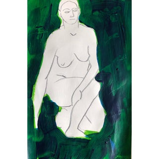 Modern Mixed Media Female Nude by James Bone For Sale