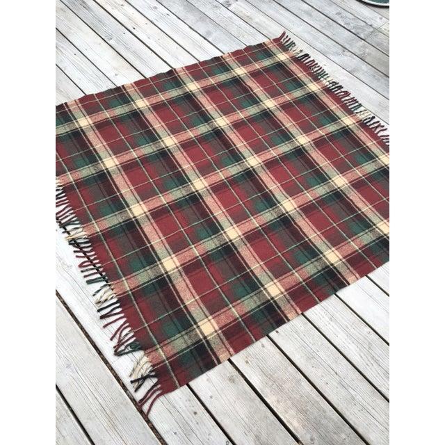 Vintage Faribault Plaid Pak a Robe Wool Blankets - Set of 5 - Image 4 of 8