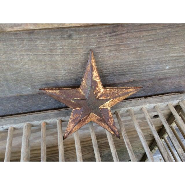 Vintage Cast Iron Star - Image 2 of 6