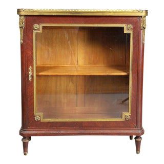 Louis XVI Style Tulipwood and Ormolu-Mounted Petit Cabinet For Sale