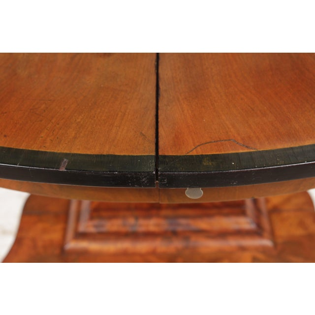 19th-C. English Empire-Sty Center Table - Image 8 of 10