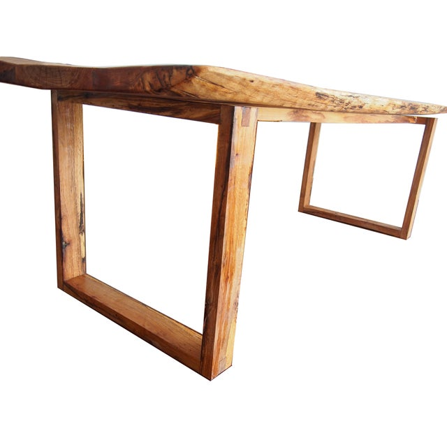 Live Edge Oak Table - Image 2 of 4
