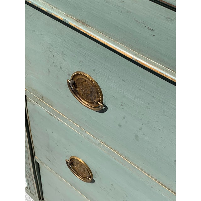 French Provincial 19th Century French Painted Dresser For Sale - Image 3 of 5