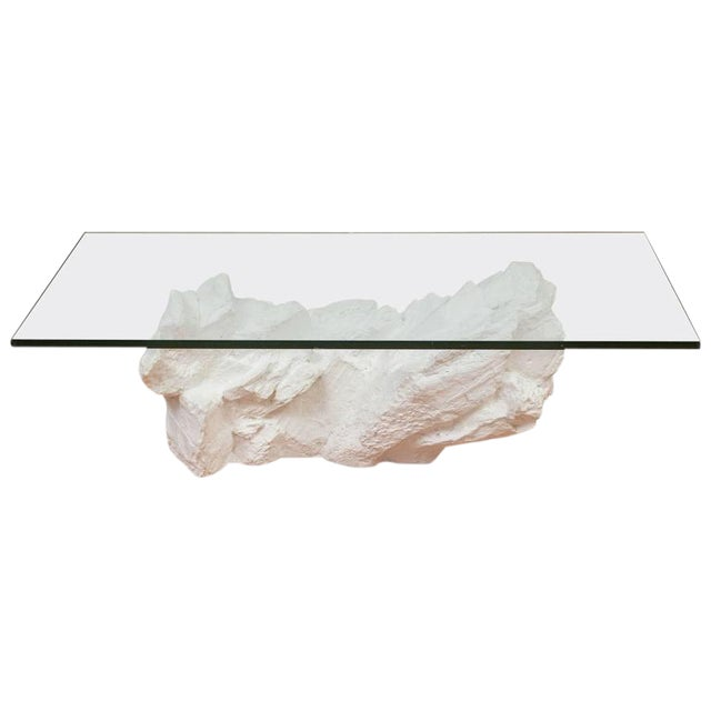 Sirmos White Plaster Rocks Coffee Table - Image 1 of 6