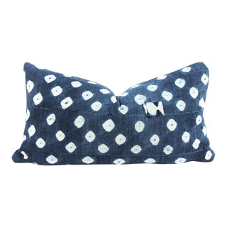 Patchwork Dots Mudcloth Pillow