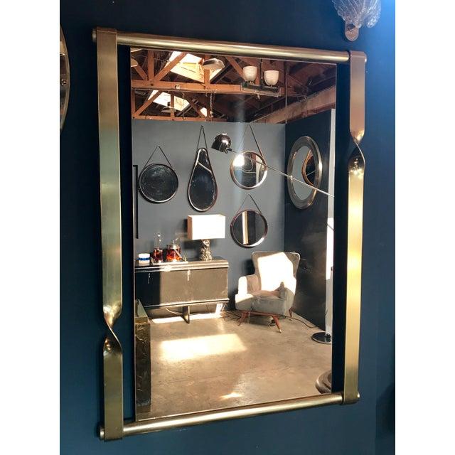 Aldo Frigerio Mirror in Brass, Italy, 1970s - Image 2 of 8