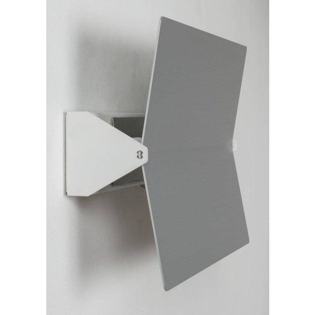 Large Charlotte Perriand 'Applique à Volet Pivotant Plié' Wall Light in Aluminum For Sale In Los Angeles - Image 6 of 8