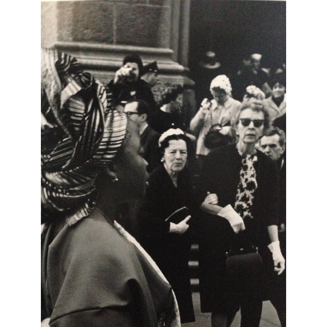 Portraiture 1963 Nyc Easter Day Parade PhotoBlack and White For Sale - Image 3 of 6