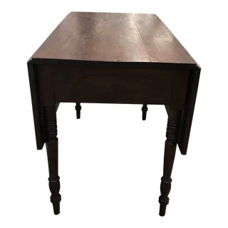 Antique Traditional Drop-Leaf Pembroke Table For Sale