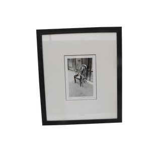 Milton Green Original Ltd Edition Black and White Photograph, Two Chairs For Sale