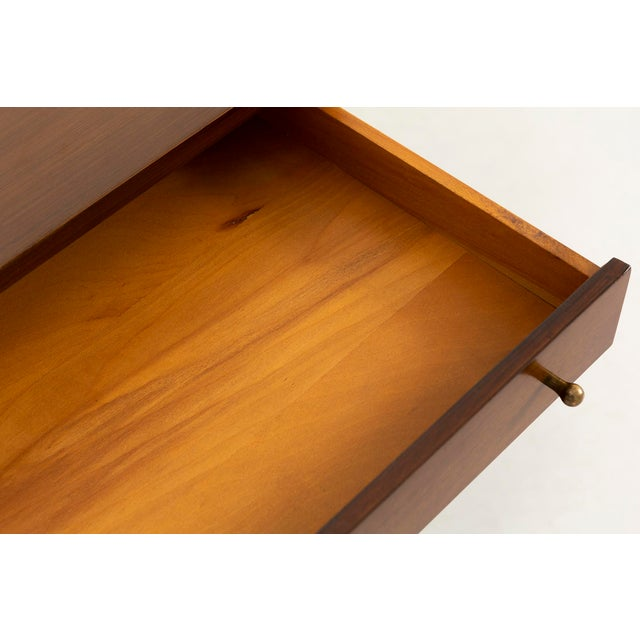 Metal Paul McCobb for H. Sacks + Sons Connoisseur Collection Walnut Cabinet For Sale - Image 7 of 9