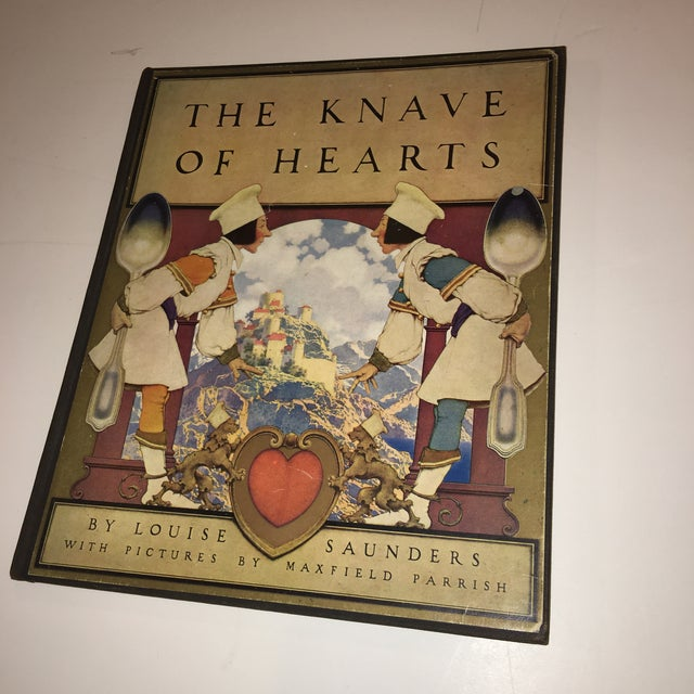 Gothic 1st Ed 1925 the Knave of Hearts Maxfield Parrish For Sale - Image 3 of 11