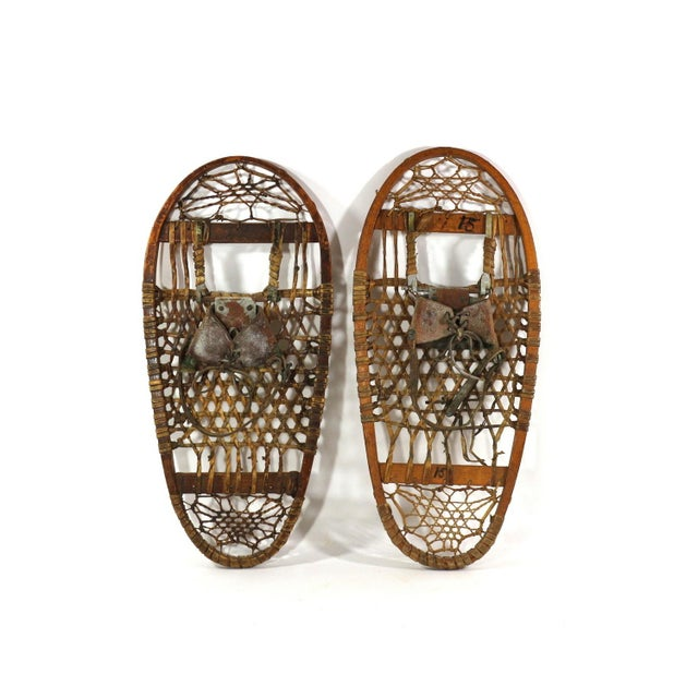 1900s Snowshoes - Image 3 of 8