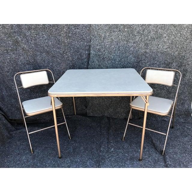 Vintage Samsonite Card Table Amp Chairs Chairish