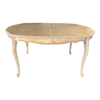 20th Century French Style Oak Dining Table For Sale