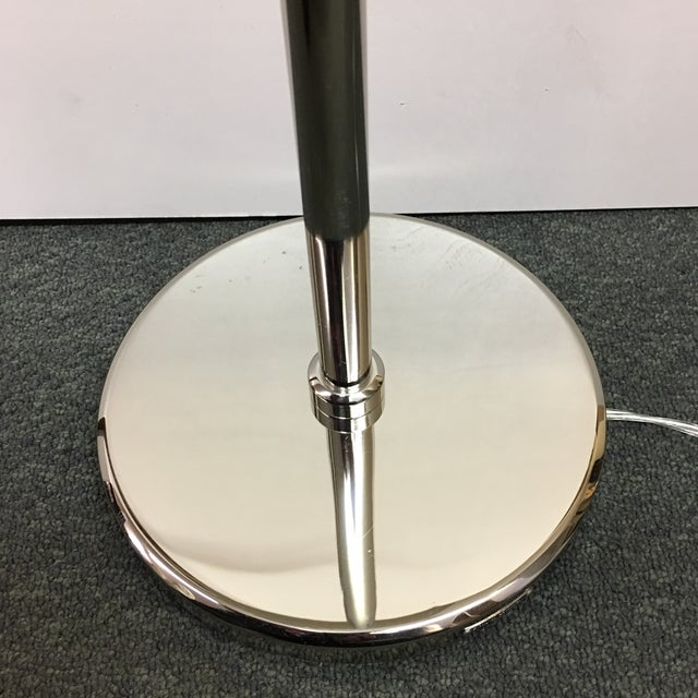 French Chrome Adjustable Floor Lamp - Image 6 of 10