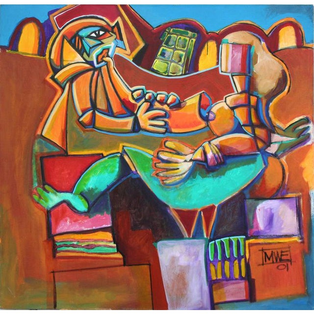 Musical Figurative Abstract For Sale