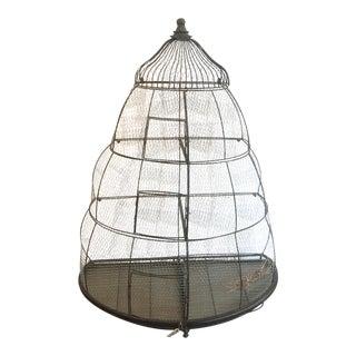 Vintage Tier Birdcage For Sale