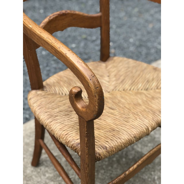 1980s 1980s Charles X Style Armchairs - Set of 6 For Sale - Image 5 of 9