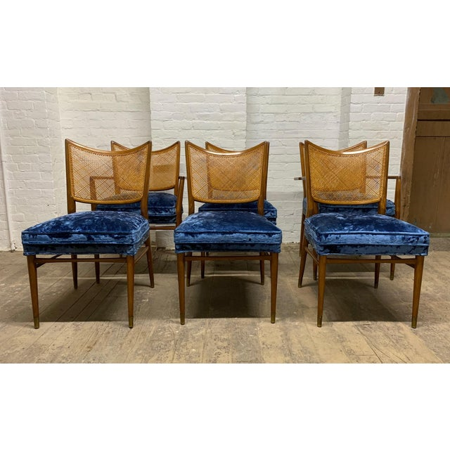 Set of 6 Erno Fabry Cane Back Dining Chairs For Sale - Image 10 of 10
