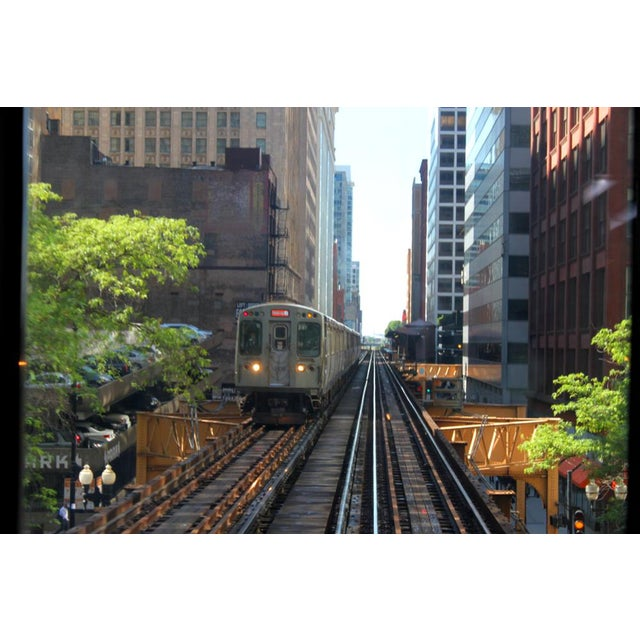 """Contemporary """"The Train Is Coming"""" Josh Moulton Photo For Sale - Image 3 of 3"""