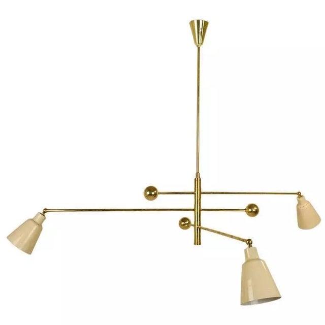 Papagni milano italian counterweight chandelier chairish papagni milano italian counterweight chandelier aloadofball Images