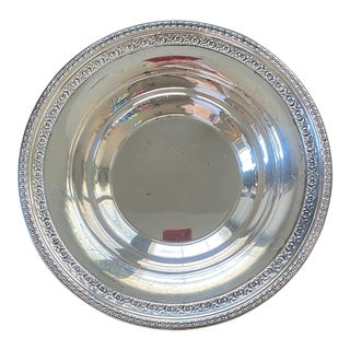 """1950s 10"""" Reed & Barton Silverplate Bowl For Sale"""