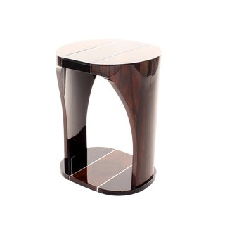 Ziricote Side Table For Sale