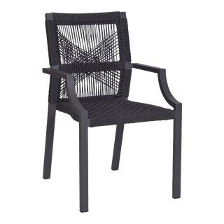 Bellevue Outdoor Stackable Arm Chair For Sale