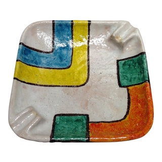 Bitossi Raymor Pottery Cigar Ashtray For Sale