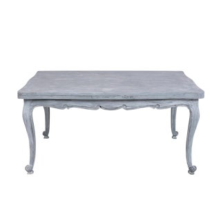 Antique French Louis XV Painted Finish Dining Table For Sale