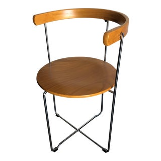 Vintage Post Modern Soley Folding Chair by Kush+ Co. For Sale
