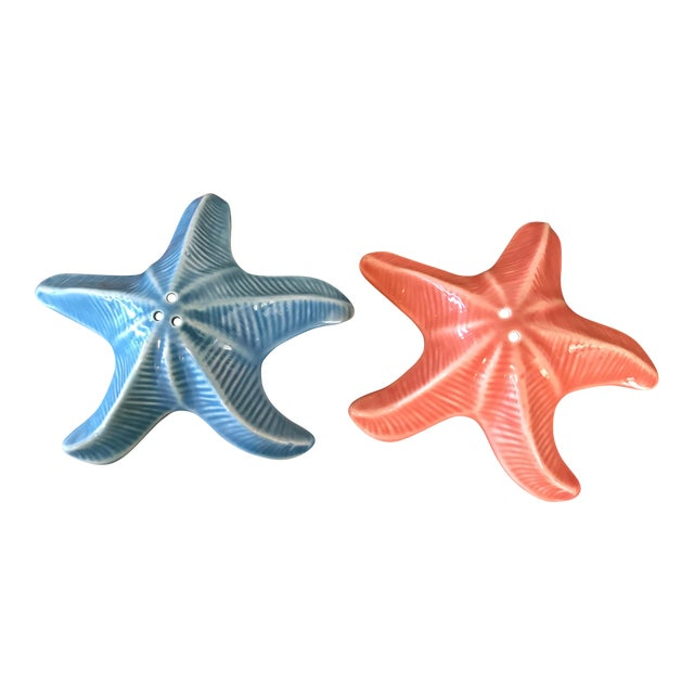 Andrea by Sadek Starfish Shakers - a Pair - Image 1 of 6