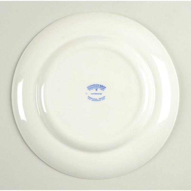 Johnson Brothers Johnson Brothers Denmark Blue Salad Plate - Set of 4 For Sale - Image 4 of 6