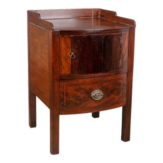 Early 19th Century George III Mahogany Bedside Commode For Sale