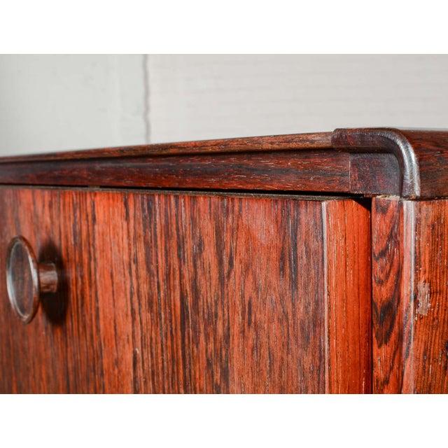 Elegant Mid-Century Dutch Design Rosewood Bar Cabinet for Fristho Franeker, 1960s For Sale - Image 9 of 13