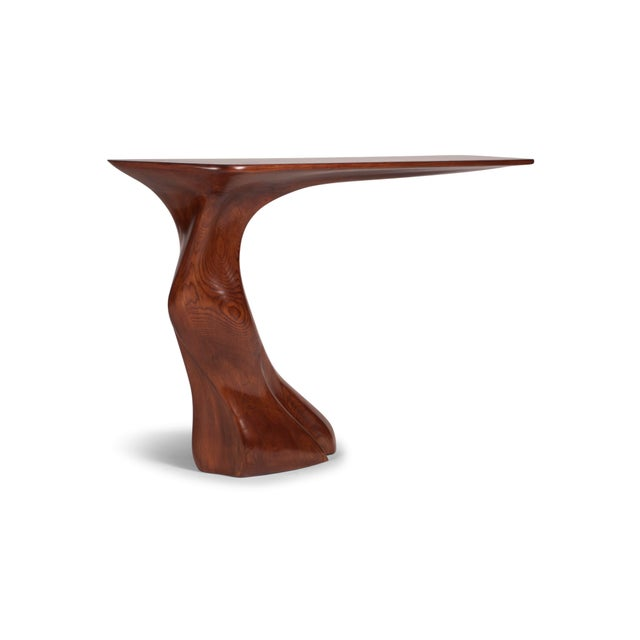Amorph Amorph Frolic Console Table, Wall Mounted - Walnut Stained For Sale - Image 4 of 12