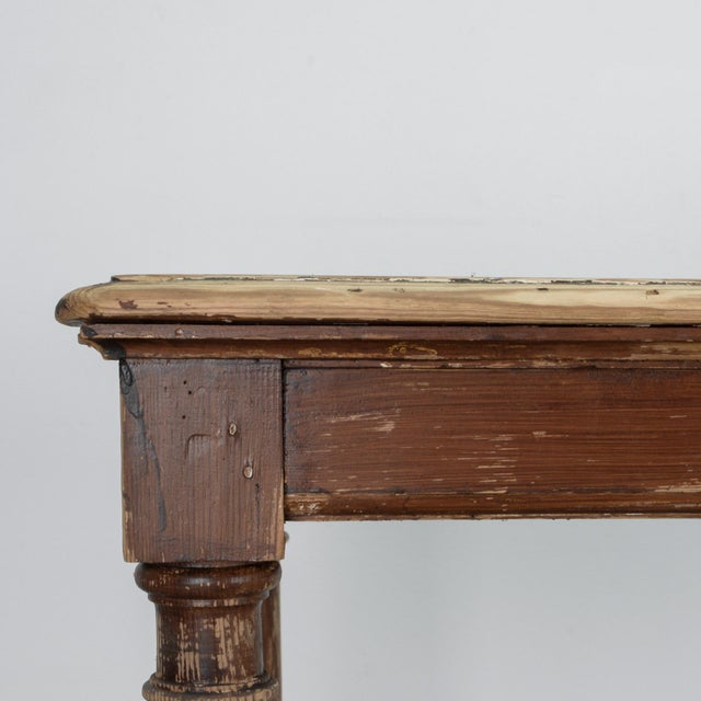 Early 20th Century Antique Belgian Side Table For Sale - Image 5 of 10