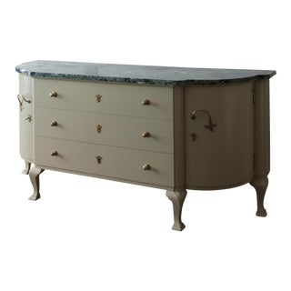 LACQUERED COMMODE BY ERNST HAIGER FOR VEREINGITE WERKSTATTEN FUR KUNST IM HANDWERK