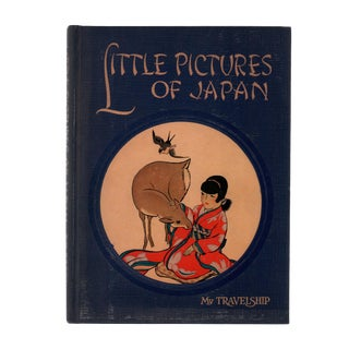 "1950 ""Little Pictures of Japan"" Coffee Table Book For Sale"