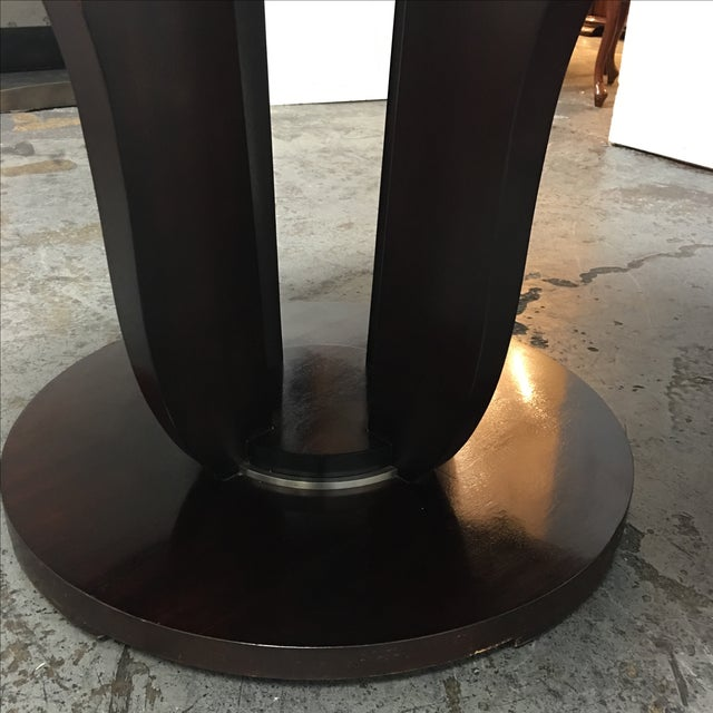 Barbara Barry Round Fluted Dining Table - Image 5 of 9
