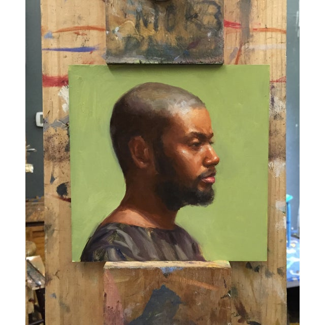 'Portrait of African American Man' Painting - Image 3 of 3
