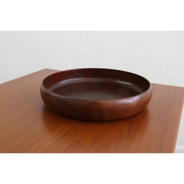 Wooden Salad Bowl For Sale In Miami - Image 6 of 6