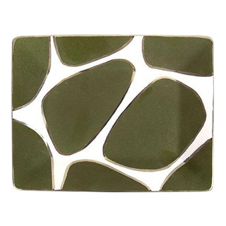 Waylande Gregory Giraffe Print Rectangle Plate / Tray For Sale