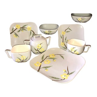 1940s Weil Ware Blossom Set - 8 Piece Set For Sale