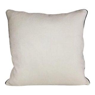 Kim Salmela Woven Ivory Pillow For Sale