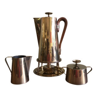 1950s Tommi Parzinger for Dorlyn Four-Piece Coffee Service - 4 Pieces For Sale
