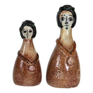 Pottery Salt & Pepper Shakers