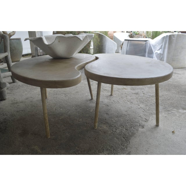 "Contemporary Modern ""Ying Yang"" Coffee Table or Side Table For Sale - Image 3 of 7"